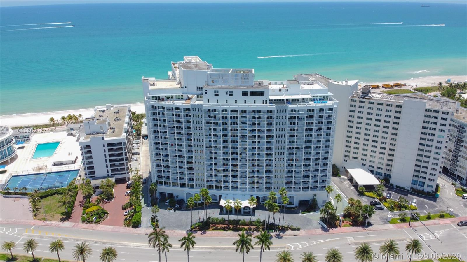 5401  Collins Ave #1016 For Sale A10862187, FL