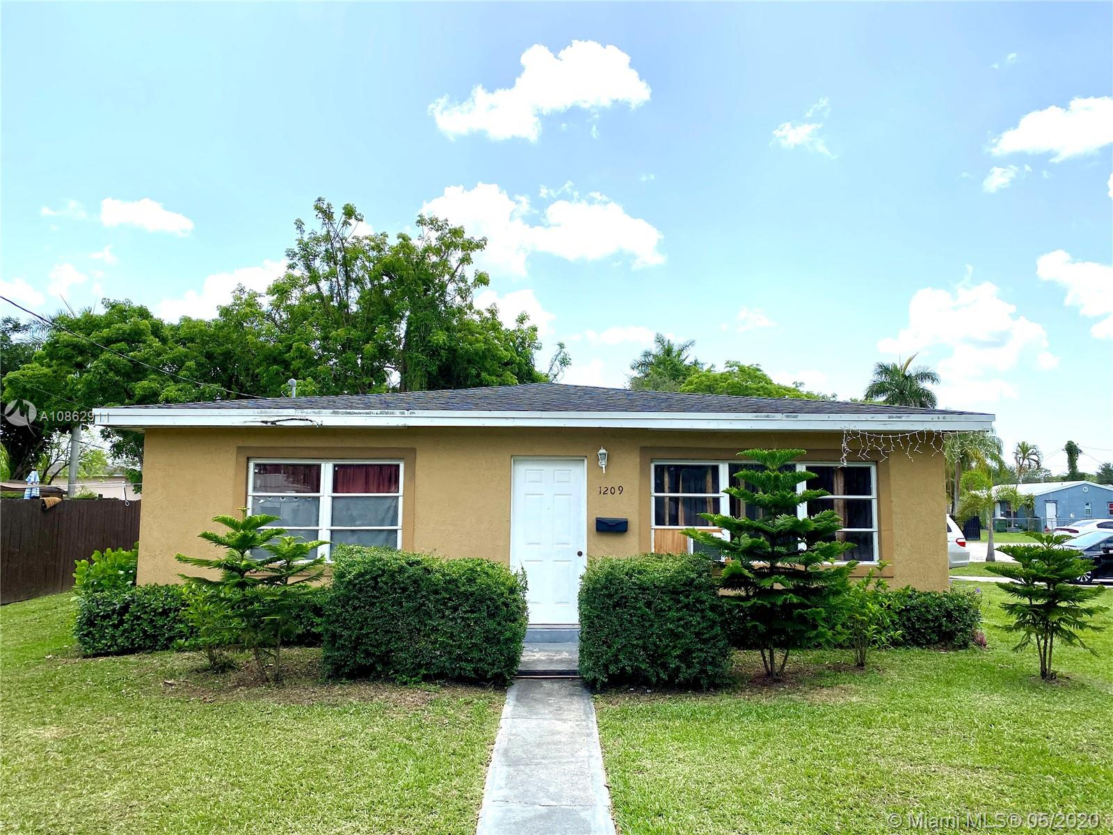 1209 NW 1st Ave  For Sale A10862911, FL