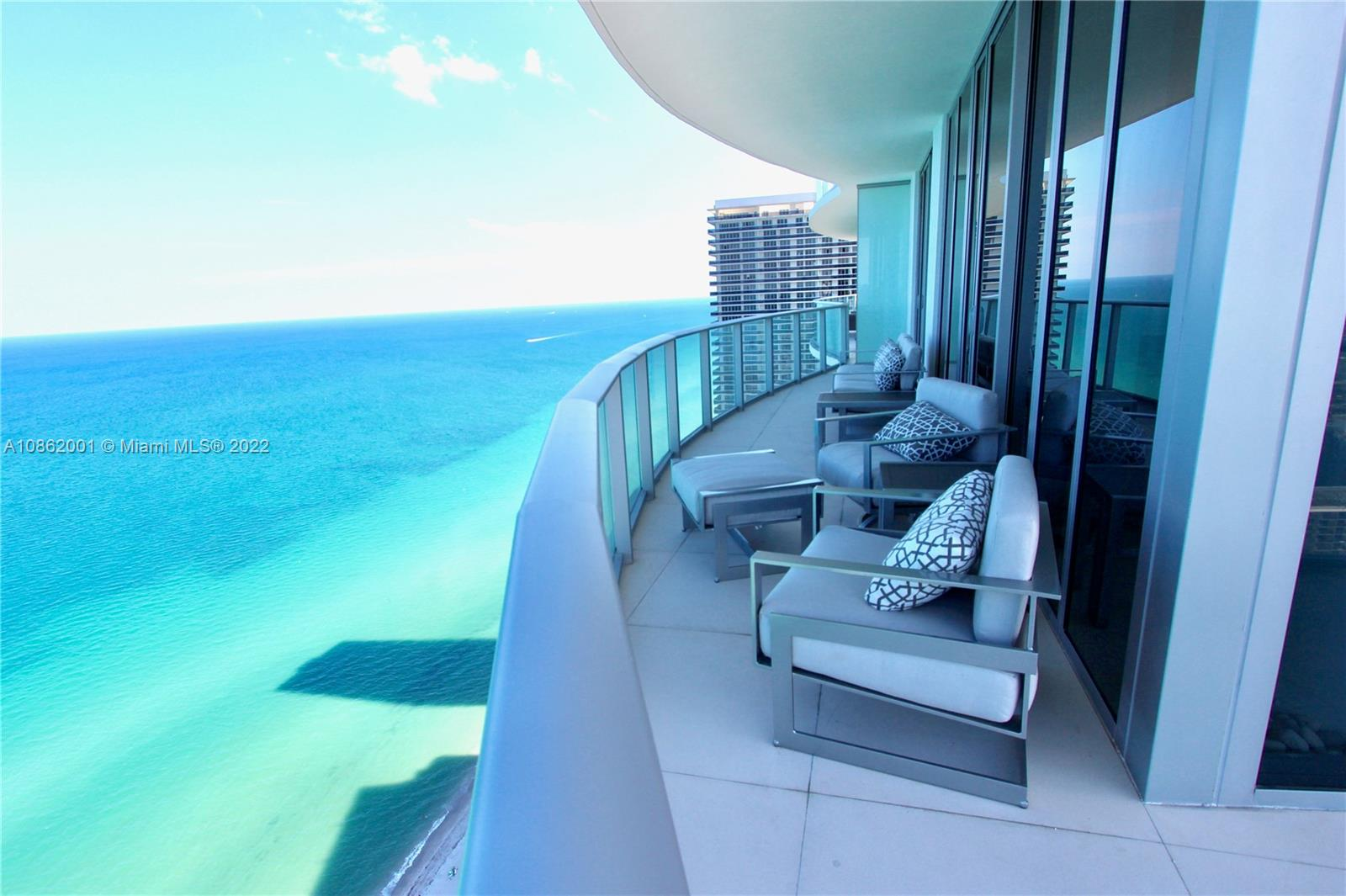 BEST UNIT IN THE BUILDING! Direct & unobstructed Ocean/Intracoastal Views from this spectacular 2B/2B Residence corner unit at Hyde Resort & Residences. Remodeled w luxury finishes high quality calacata porcelain floors,Quartz countertop,motorized Lutron roller shades -sunscreen and black-out, Lutron lighting system,safe-box, Sonos system,Nest thermostat and Nest-Yale entrance lock.Fully furnished & equipped with top of the line appliances. Impact glasses from ceiling to floor wrapped by a large balcony w confortable outdoor furniture to enjoy the stunning views. Elevator with private hall. Beach Club Membership included w/beach service and restaurant. Amenities: fitness center, 2 infinity edge ocean view pools, private cabanas, full service spa, 24room service. 2020 AAA four diamond award