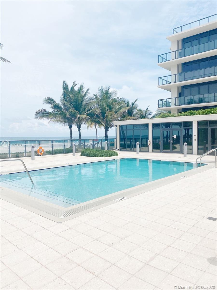 Spectacular, spacious, modern, 3 bedroom and 3.5 bathroom exclusive luxurious condo in SAGE. Amazing oceanfront views, ocean access, private elevator access direct foyer in front of unit, pool, with only 8 units in complex. Walk down to the beach, enjoy beach front living, with an amazing location!