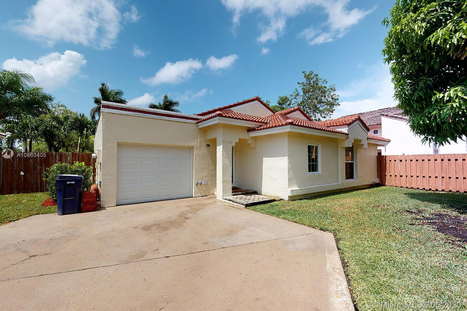 11263 SW 158th Ave  For Sale A10863405, FL