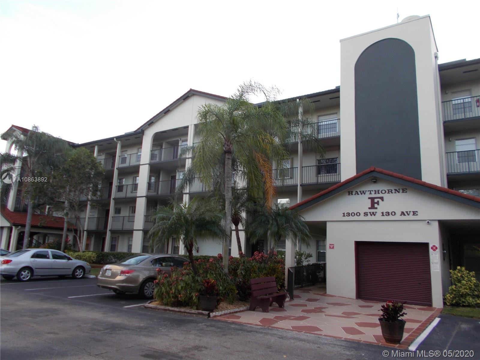 1300 SW 130th Ave #404F For Sale A10863892, FL
