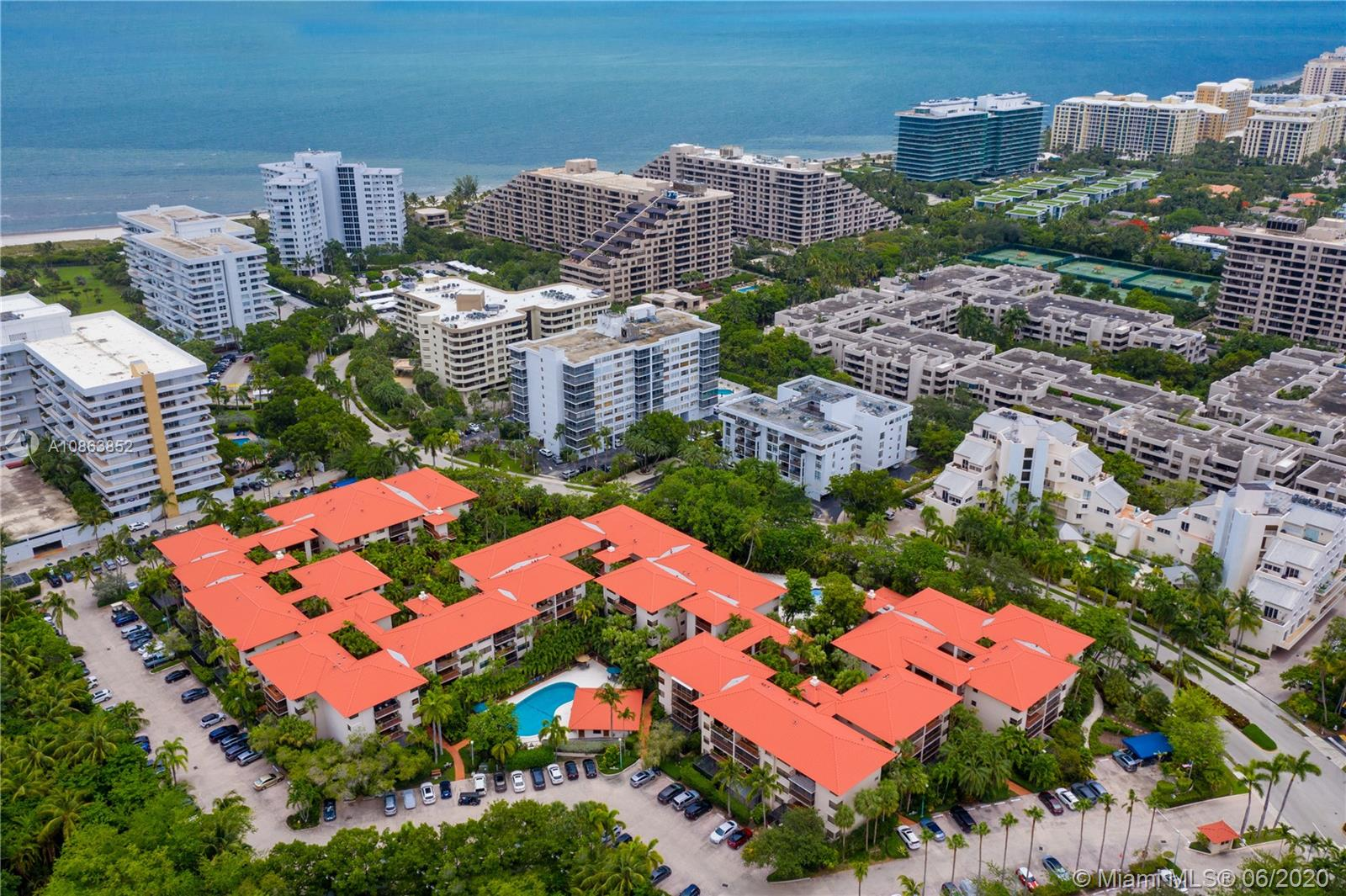 Ocean Village Condominium, walk to the beach! Located at the entrance of our island, with easy in and out access. Gated, security gate. Two pools. One parking space with plenty of guests/second parking facility. Unit overlooks pool area. Located in the most secluded area of the complex. With green views and pool view. The building offers a breezy and nice feeling. walk among gardens and waterfalls. Unit has 1450 sq.ft. Two bedrooms, two bathrooms. PLUS DEN.that can be used as an office, washer and dryer inside the uit. The unit is in original condition but can be easily upgraded. location is excellent , with east exposure. Bring offers. show it with confidence.Tuesday and Thursday are the preferred showing days.