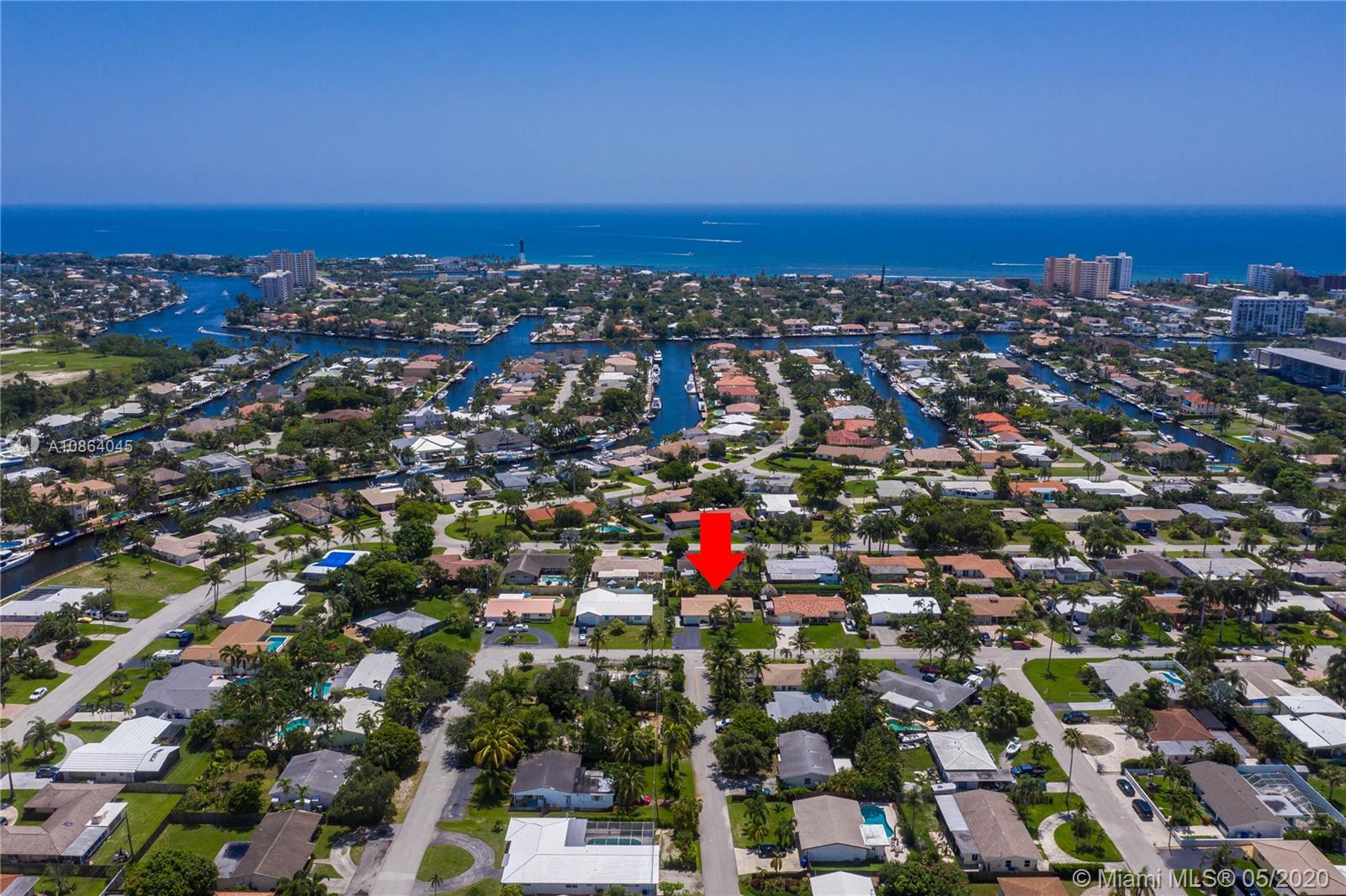 WHAT A GREAT LOCATION WITHIN A MILE OF THE OCEAN IS THIS TASTEFULLY DECORATED HOME. DEFINITELY ABOVE THE REST.NEWER BARREL ROOF, IMPACT WINDOWS AND DOORS INSTALLED 2019, INGROUND POOL WITH MASSAGING JETS, NEWLY FENCED YARD WITH TROPICAL LANDSCAPING.THE KITCHEN HAS TUMBLED MARBLE COUNTERS & BACK SPLASH AND STAINLESS-STEEL APPLIANCES. 20 INCH DIAGONAL PORCELAIN TILE THROUGHOUT THE LIVING AREAS. THE HOME HAS BEEN FRESHLY PAINTED. THERE IS SPACIOUS GARAGE, SEPERATE LAUNDRY AND UTILITY ROOM.