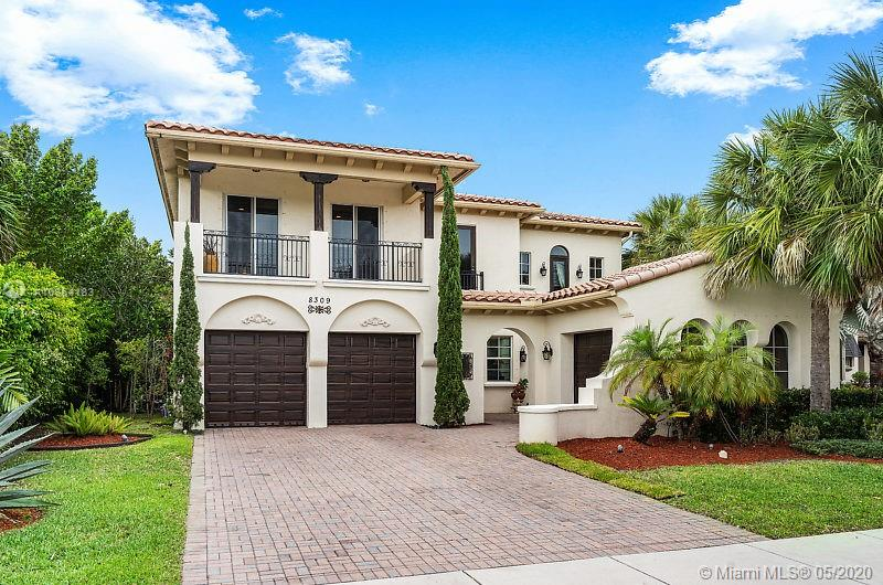 Almost 4000 sq ft, elegant, spectacular, inviting, impeccable, comfortable and warm are just a few words to describe this home. You will be so happy to spend time in this 4 bedroom, 3 bath + large bonus room, 3 car garage, 6 car driveway, beautifully landscaped home. Magnificent chefs kitchen with huge center island. High end appliances. Surround sound throughout home. Perfect home for entertaining. Designed perfect guestroom downstairs. Built-out closets in all rooms. Central vac. Master bathroom with a luxurious Jacuzzi tub and screened in balcony overlooking a beautiful lake with lavish and tranquil sunsets. Visit this link for a 3D Virtual Tour: https://my.matterport.com/show/?m=ZhDtPHGJCkx.