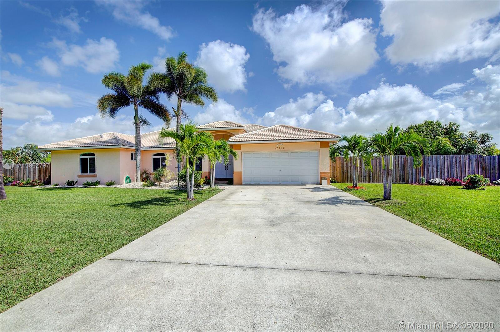 15432 SW 277th St  For Sale A10862797, FL