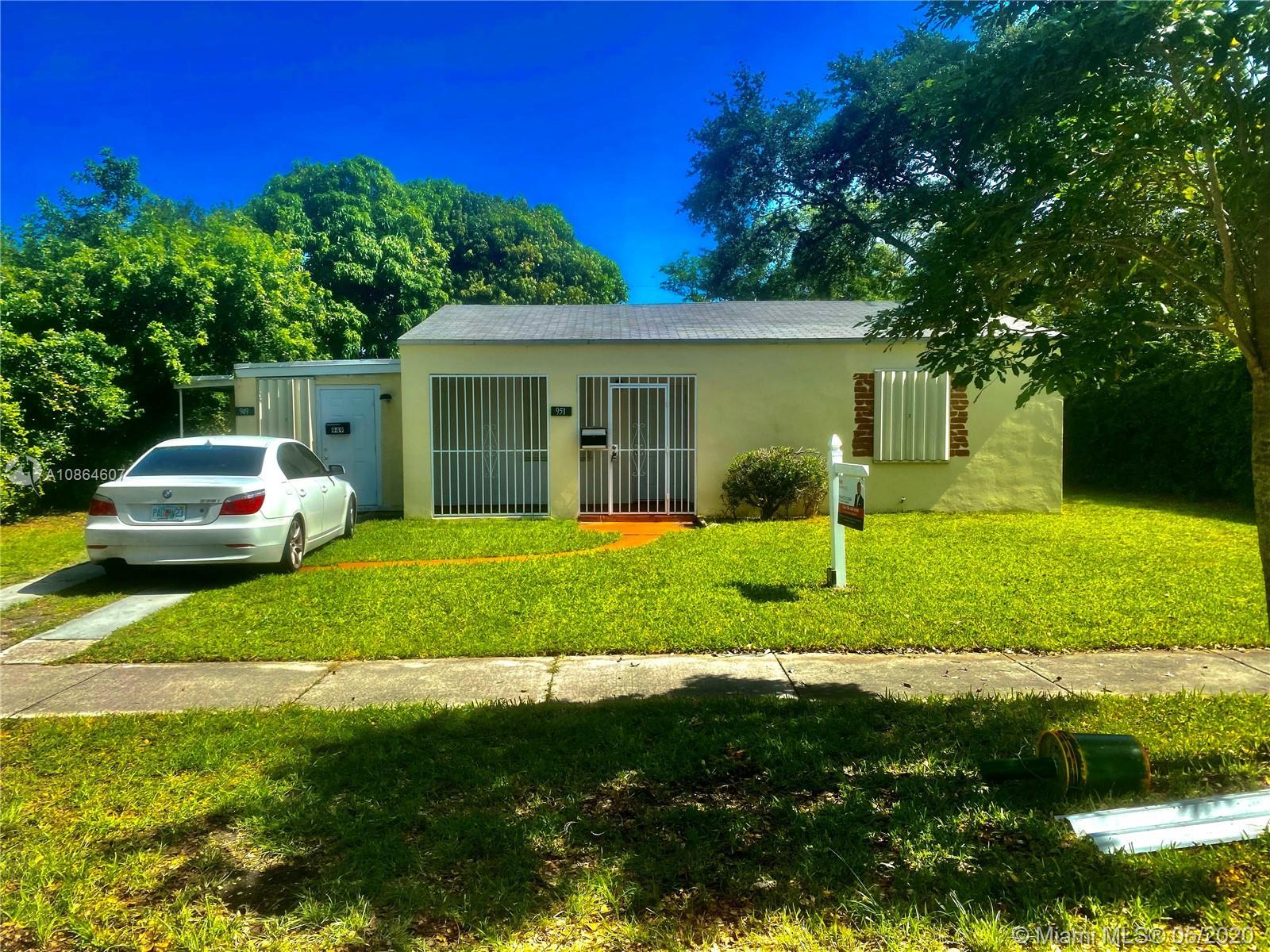 951 NE 141st St  For Sale A10864607, FL
