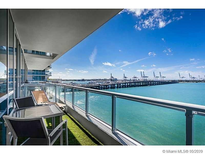 Stunning views from this Bay Front 1 Bed/1 Bath at the Iconic Bentley Bay, offering many upgrades & features that include polished concrete floors, Italian marble countertops, stainless steel appliances, custom built-in cabinetry and floor-to-ceiling windows. The large master suite & terrace overlooks Biscayne Bay & Master Bath features a glass-enclosed shower and stand-alone tub. Enjoy everything Bentley Bay has offer including an infinity edge swimming pool, a lush landscaped pool deck, fitness center & spa, 24-hour security, reserved and valet parking.