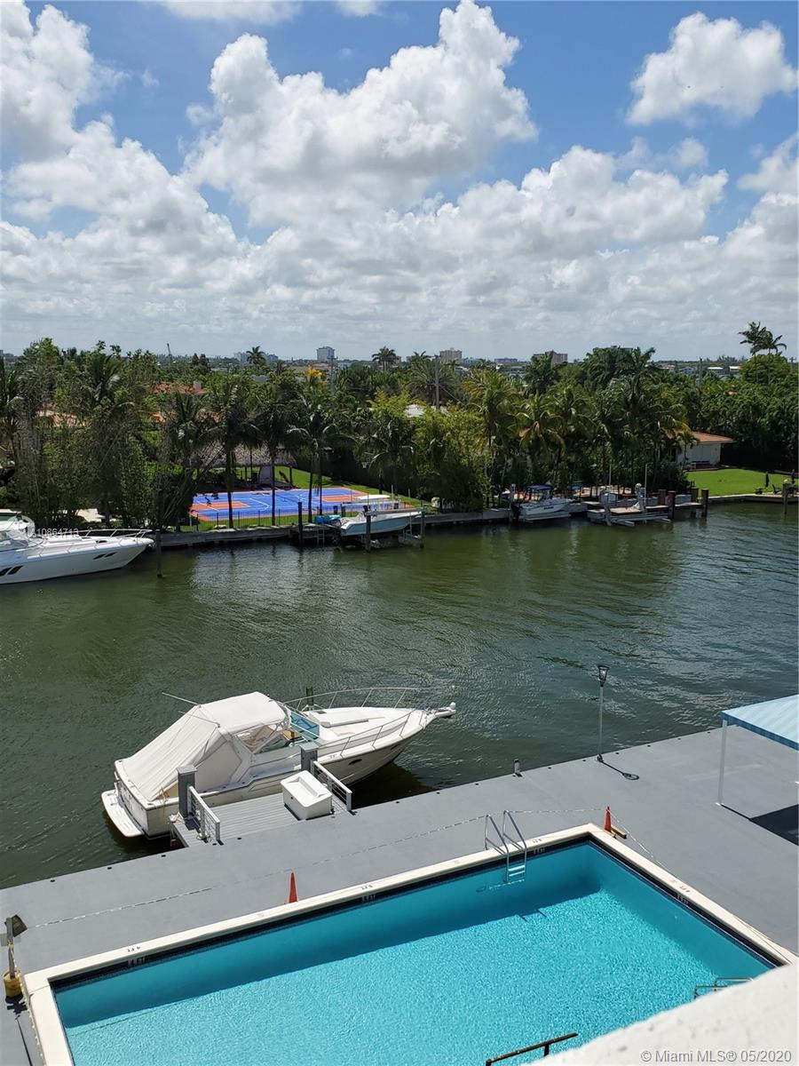 Spacious 1441 SQFT 2 Beds & 2.5 Baths in Bay Harbor Islands with great Water views and pool area.  Property is ready for a Buyer looking to remodel and make this place beautiful and cozy. Property has lots of closet space, Washer & Dryer Hook up. One Covered Assigned Parking Space. Building has been mostly renovated with several amenities such as Canal Front Pool Deck, Pool, Gym, Party Room, Storage, 24 Hours Concierge. Education District is ne of the best in the whole County, close to major Airports, Art District, Bal Harbor Shops, Dining and Beaches.  Please contact Listing Agent for easy showing.