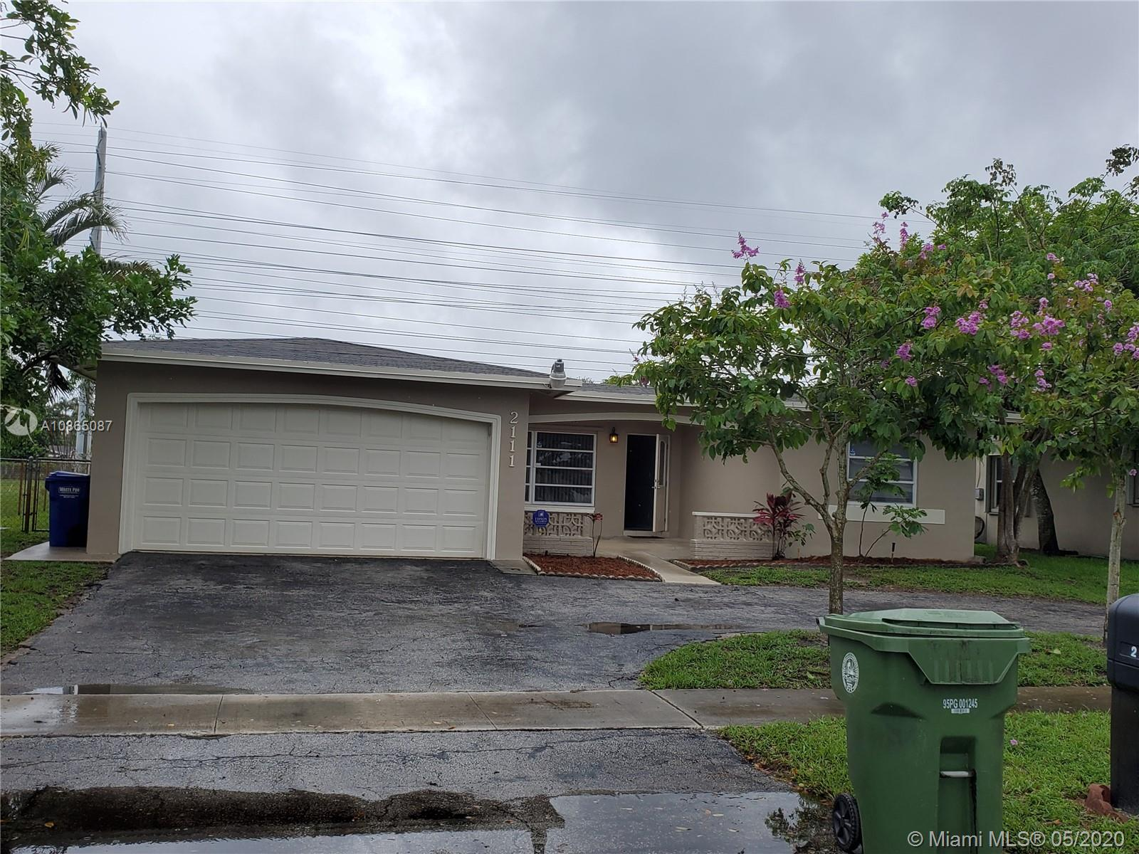 2111 NW 93rd Ave  For Sale A10865087, FL