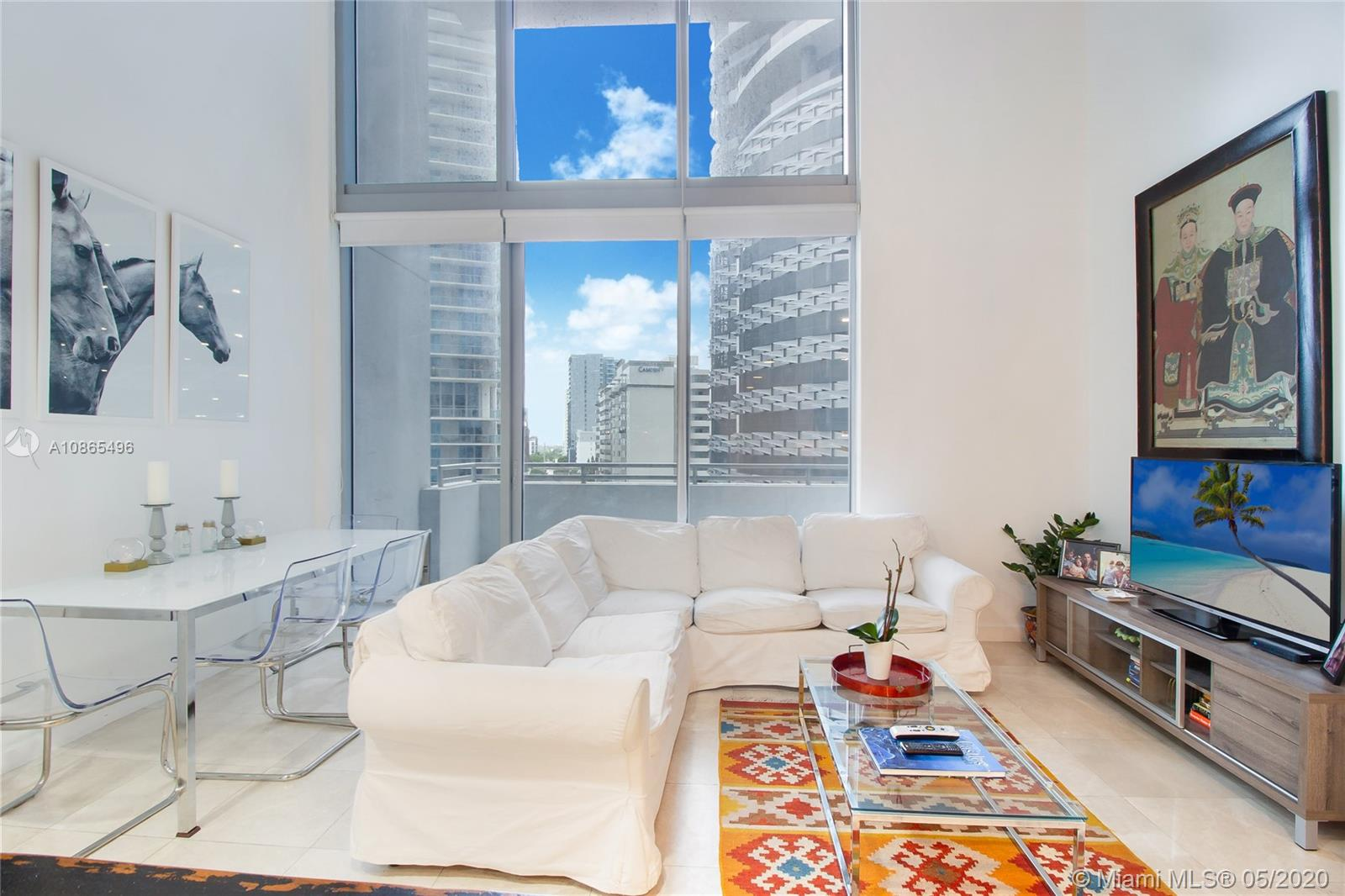 BEAUTIFUL LOFT APARTMENT ON BRICKELL, MARBLE FLOORS THROUGHOUT, WINDOW TREATMENTS, GOURMET KITCHEN AND BEAUTIFUL POOL VIEW; GREAT AMENITIES INCLUDING POOL ROOM, MASSAGE ROOM, VIRTUAL GOLF, GYM AND WINE ROOM. CLOSE TO MARKET, BARS AND RESTAURANTS AND MINUTES FROM METRO RAIL AND MONO RAIL. COMMON AREA DEPOSIT REQUIRED BY ASSOCIATION PAID BY LANDLORD. FIRST & 2 SECURITY DEPOSITS.