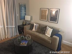 Location, Location, Locations!!! Experience this incredible fully furnished condo at the Mutiny in the heart of Coconut Grove. This amazing 2 bedrooms / 2 baths unit has been professionally decorated with top of the the line furnished, newly remodeled kitchen, appliances and full new flooring. Includes all the hotel amenities and 2 parking spaces for your convenience. This unit is currently enjoying success on the in house rental program. Walking distance to Coconut Walk. The best of the best, must see…