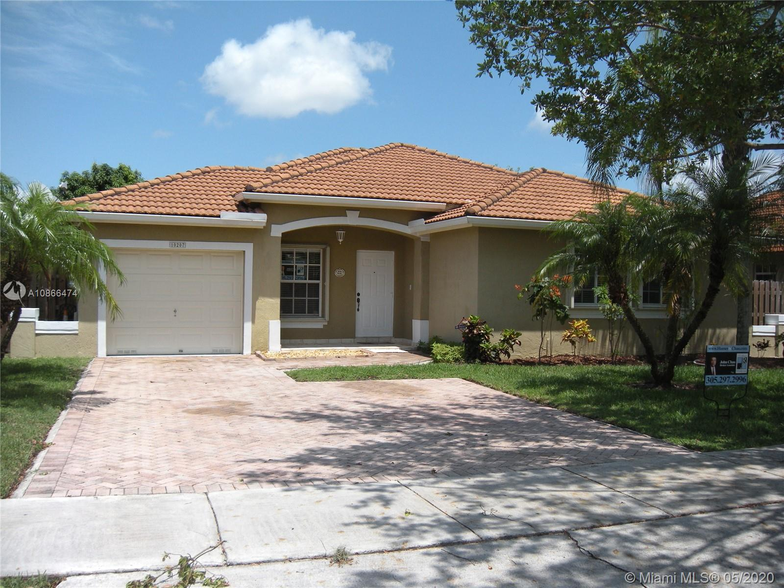10207 SW 161st Ave  For Sale A10866474, FL