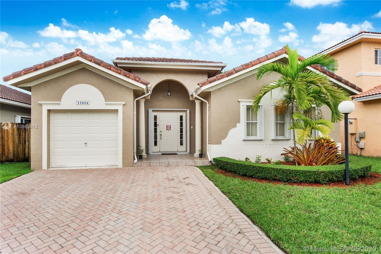 13024 SW 143rd Ter  For Sale A10866613, FL