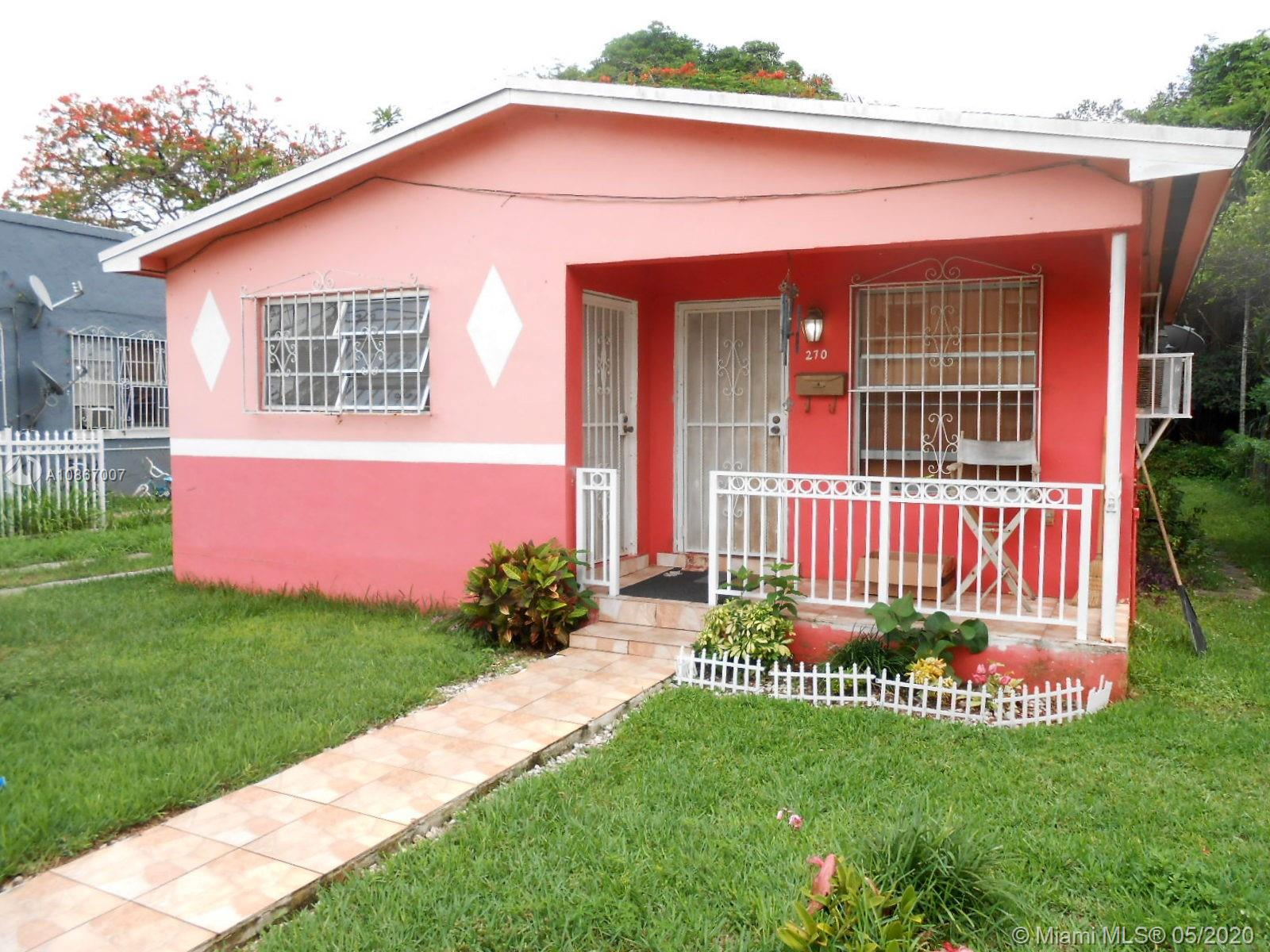 270 NW 81st St  For Sale A10867007, FL