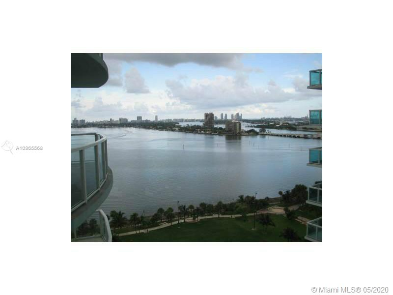 ONLY 1ST MONTH & SECURITY DEPOSIT! Enjoy beautiful views of South beach, bay and the Miami skyline . Great 1 bed 1 bath condo. Remodeled with porcelain floors & new lighting. Open European style kitchen w/granite counters, S/S appliances, washer/dryer. 24 hour concierge/security, club room, gym, 2 pools, media/theater room. Rental price includes water, basic cable, internet. Located across the street from Margaret Pace park. Can walk to restaurants and shops. Excellent Location.