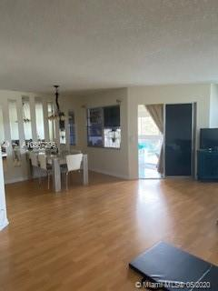 Convenient 1 Bed/1.5 Bath unit, located in the Century Village community. This unit offers the comfort of living with all the amenities and services that make life easier: shuttle service, scheduled entertainment activities, convenient store and pharmacy, theater, indoor/outdoor pools, tennis courts, meeting room, billiard room, gym, jacuzzi and much more! HOA covers structural insurance, water, garbage, cable , WiFi , security, all common areas. The apartment is in excellent condition with tile floors throughout, half bath, 55+ community with unlimited activities including Clubhouse, Security Gate. GREAT CONDOMINIUM HOME! Motivated seller ready to sell. Please call for a showing!