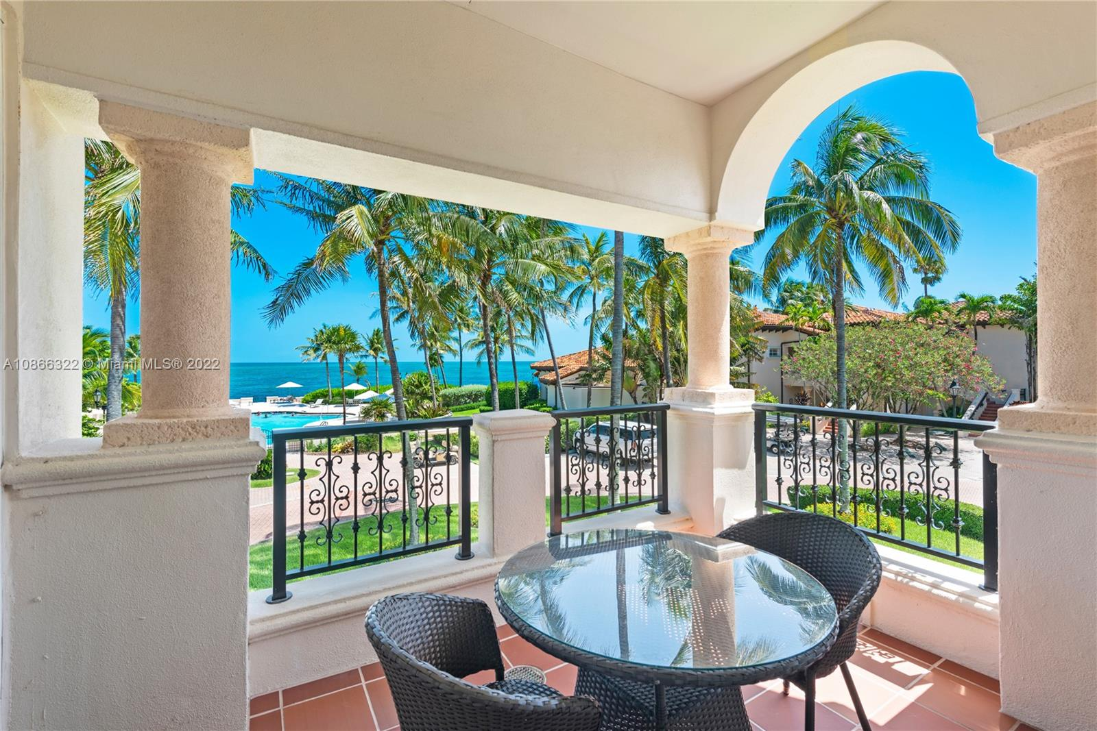 """Experience Fisher Island living at it's finest in this beautifully renovated 3 bedroom, 2 bath Seaside Villa condo on the 2nd floor. The unit is offered fully furnished. Features include: marble and wood floors, impact glass doors and windows, state of the art kitchen and bathrooms and many more.  A perfect """"pie a terre"""" Owners can rent short & long term. Visit this exceptional offering!"""