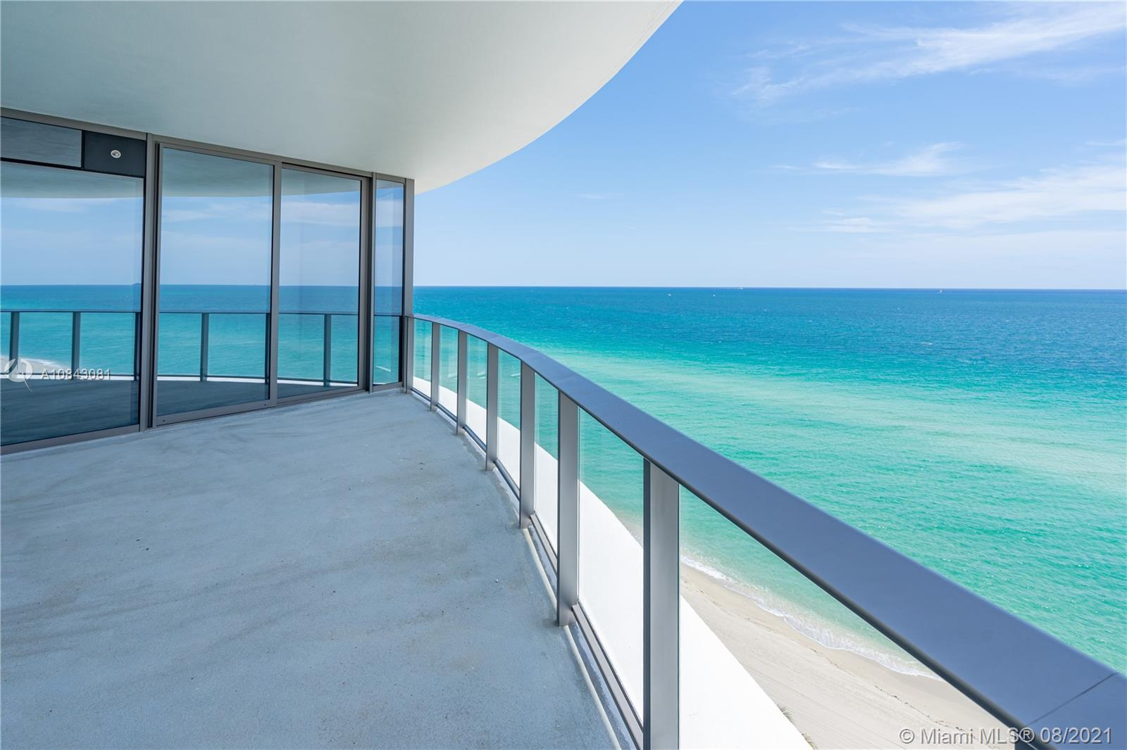 Glamorous new RITZ-CARLTON RESIDENCES at the Beach. 3 bed + DEN / 3.5 bath with direct views to the OCEAN. Flow-through unit with 10' floor-ceiling glass. Snaidero kitchen cabinetry, quartz countertops, Gaggenau appliances, wine cooler/coffee maker. Impeccable bathrooms. Private elevator/foyer. Smart home tech ready, free WiFi/cable and as many parking as you need. Known for its legendary service, AMENITIES include: Beach/pool attendants, hot tubs, restaurant (room service), bar, business center, kids club, fitness/wellness center and 8 family suites (no hotel on premises). Security/Concierge/Valet. Free breakfast every day! Live in desirable SUNNY ISLES BEACH, walking distance to restaurants. * No 2.3% developer fee. Floors/ Closets/ Blinds negotiable. Same Ocean view as upper levels *