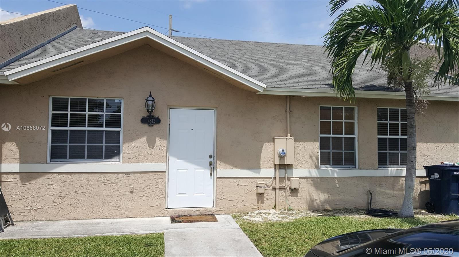 14812 SW 116th Ave  For Sale A10868072, FL