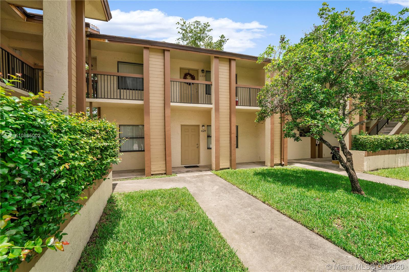 INVESTORS !! Rent Immediately. This 2 Bed 2 Bath Condo Is Located In The Heart Of West Coral Springs. Kitchen Features Stainless Steel Appliances, Plenty Of Wood Cabinets, Breakfast Bar, Pantry And More! Open Layout With Dining/Living Room Leading To Screened Balcony That Features Extra Storage Room. Spacious Master Bedroom Features Natural Lighting With Walk In Closet. Upgraded Master Bathroom Features Spacious Tiled Shower, Custom Wood Vanity, Framed Mirror And Upgraded Lighting. 2nd Bathroom Features White Wood Vanity, Shower/Tub Combo. Stacked Washer And Dryer For Your Convenience. Community Pool And BBQ Area For Entertaining. Unit Is Currently Rented Until September, 2020. Association Installed BRAND NEW ROOF 2020. New Front Door in 2019. Building Exterior Freshly Painted In 2019.