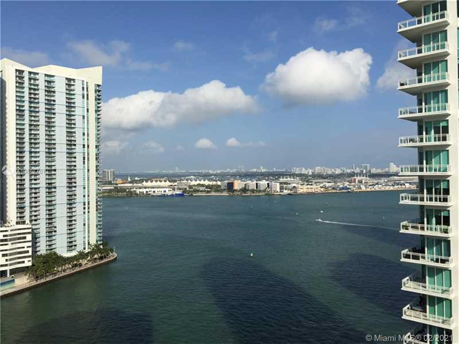 Spectacular house in the Sky! Oversized corner unit with spectacular views of Miami. This four bedroom four and a half bath unit comes with marble thru out large chefs kitchen with large breakfast area. Finished out closets. Glass enclosures in all tubs. Two parking spaces, Storage Unit. Carbonell features state of the art amenities. Two tennis courts, 2 story gym, basketball, racquetball, sauna, heated, swimming pool, concierge, free valet, recently renovated common areas.
