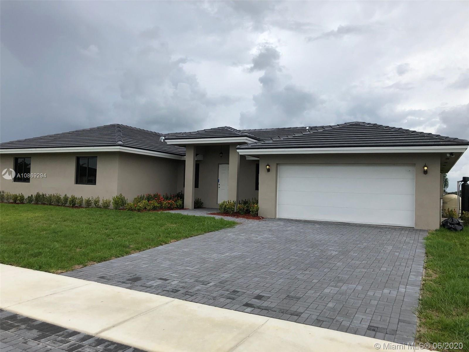 20541 SW 320th St  For Sale A10869294, FL