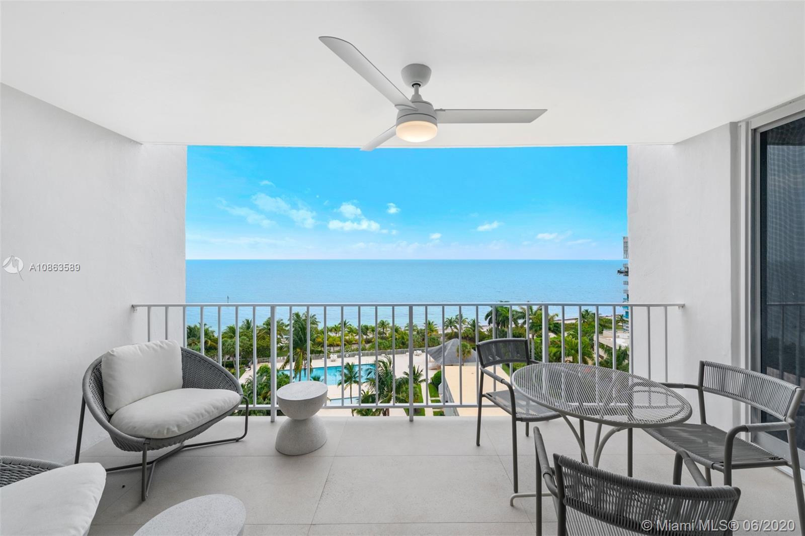 881  Ocean Dr #9B For Sale A10863589, FL