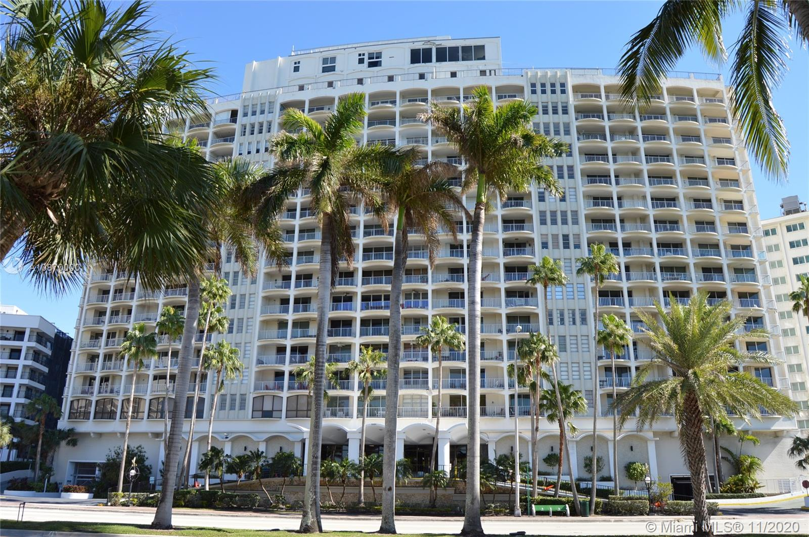 5401  Collins Ave #511 For Sale A10870000, FL