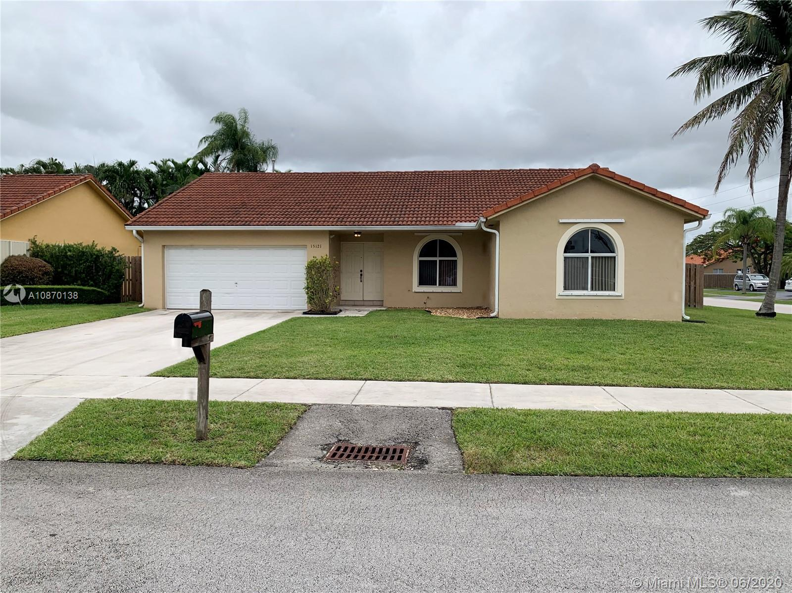 15121 SW 148th Ave  For Sale A10870138, FL