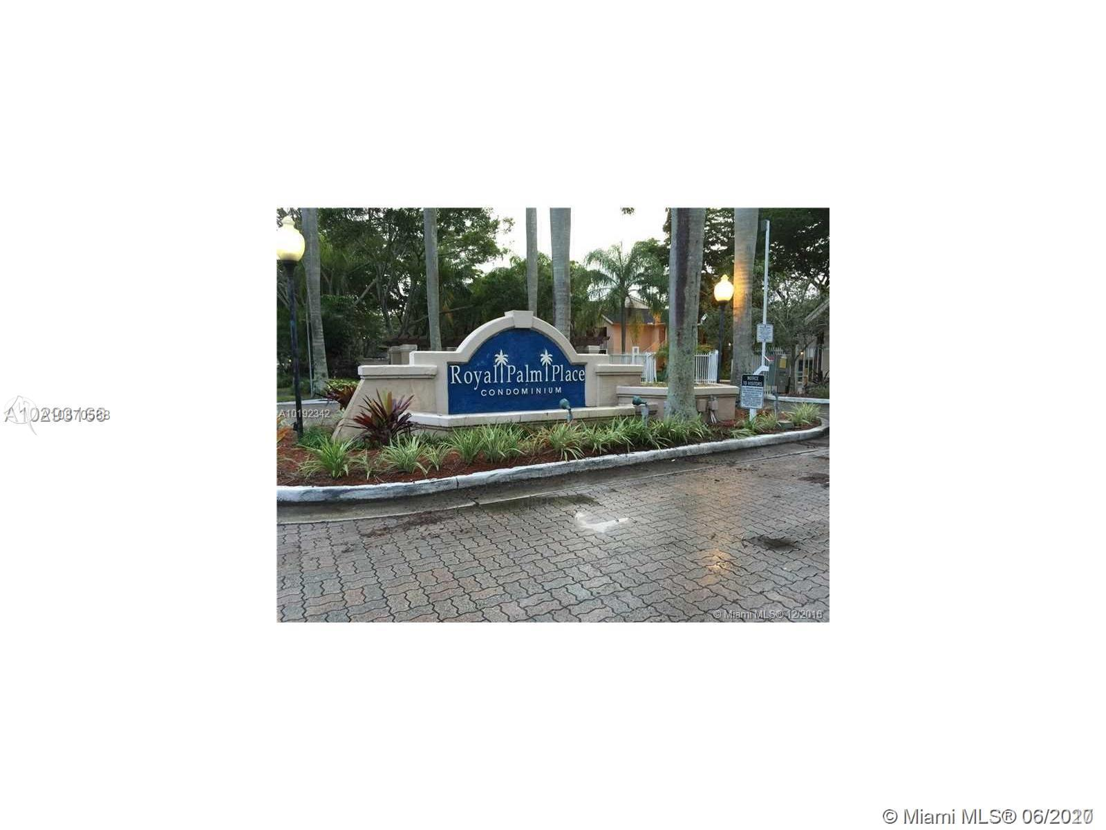 10451 SW 157th Pl #206 For Sale A10870588, FL