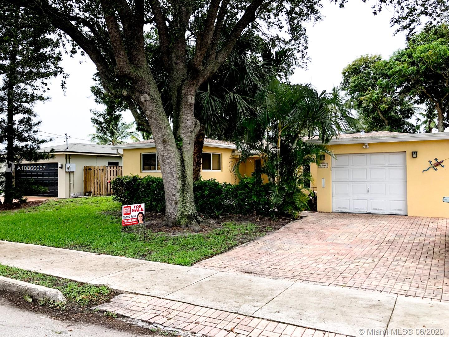 BEAUTIFUL, SPACIOUS 1830 s.f  2-2  1/2, 65ft WATERFRONT HOME LOCATED IN THE CITRUS ISLES. This home faces one of the deepest canals with ocean access and no fixed bridges. The roof is under 5 years old with a 20 YEAR warranty. HOUSE HAS IMPACT WINDOWS & DOORS. Open floor plan. Original terrazzo floors in the bedrooms. Newly installed, natural gas on-demand WATER HEATER. Dock and deck are in great shape. The dock has water and 50 amp. service.  The kitchen appliances are only 3 years old. A new electric panel was installed by the current owner. This home is in a Great location close to 95, Las Olas the beach, and the airport.  Enjoy the beautiful relaxing water view and the 2 Mango trees in the back yard.  Please wear a mask for the visit!