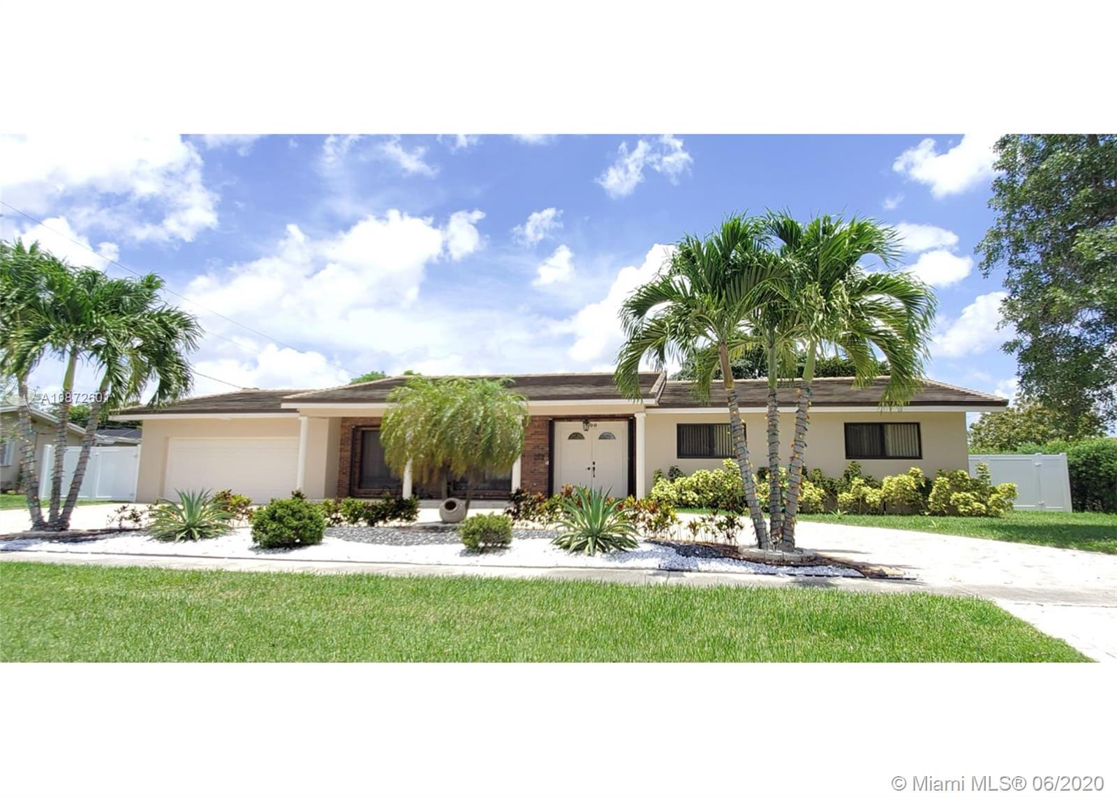 A MUST-SEE HOUSE IN PRESTIGIOUS PLANTATION. COMPLETELY REMODELED, FLOORS, BATHROOMS, KITCHEN, POOL DECK, IMPACT WINDOWS AND DOORS, 2 GARAGE DOORS, 14900 CORNER LOT. HUGE LEGAL FLORIDA ROOM, POTENTIAL TO BUILD 2 MORE ROOMS IN THE BACK OF THE PROPERTY, JUST NEED TO ACQUIRE PERMITS. ENCLOSED POOL AREA, LARGE PATIO WITH ENOUGH SPACE TO KEEP YOUR BOAT OR RV. LOCATED IN FRONT OF USPS PLANTATION OFFICE WITHIN 10 MINUTES AWAY FROM BROWARD MALL, NOVA UNIVERSITY, BROWARD COLLEGE, RESTAURANTS & MORE... YOU WILL FALL IN LOVE WITH THIS HOUSE IMMEDIATELY... OWNER OCCUPIED, PLEASE DO NOT DISTURB, 24 HRS. REQ BEFORE SHOWING, USE SHOWING ASSIST.PLEASE SUBMIT PRE-QUALIFICATION LETTER WITH OFFER.