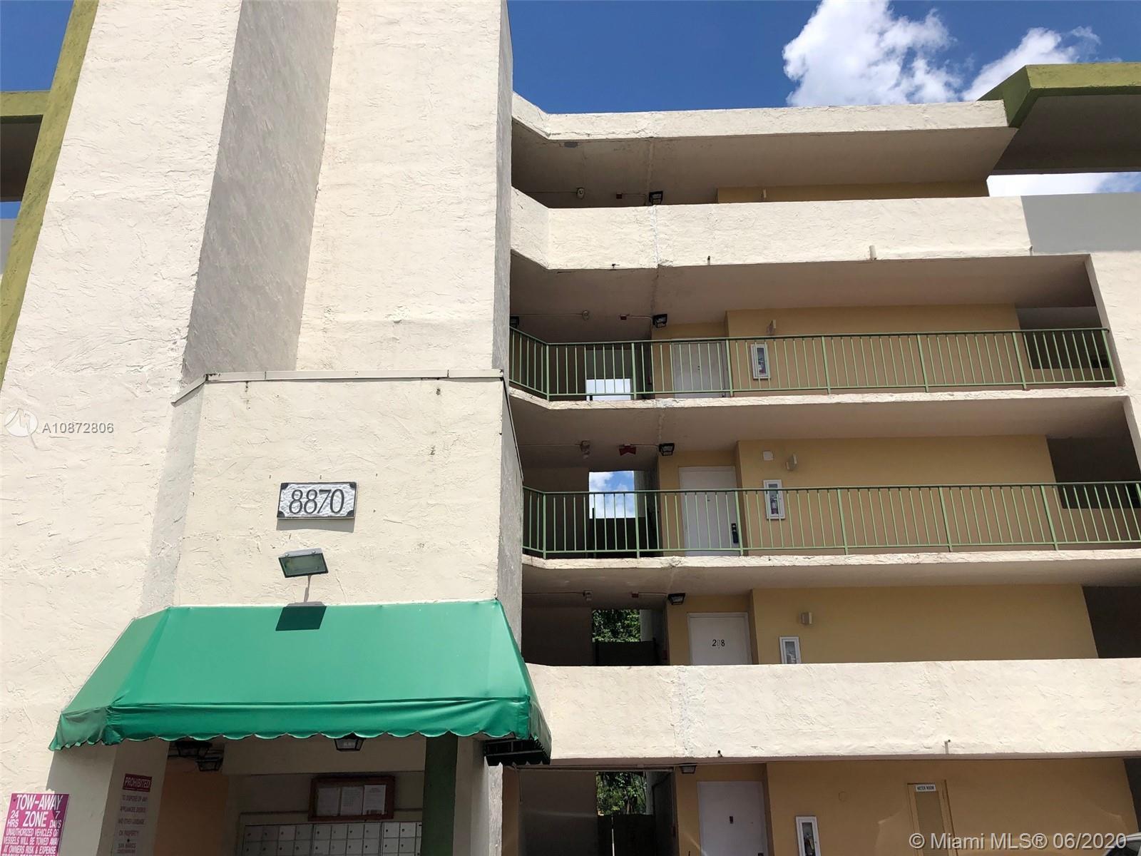 8870  Fontainebleau Blvd #502 For Sale A10872806, FL