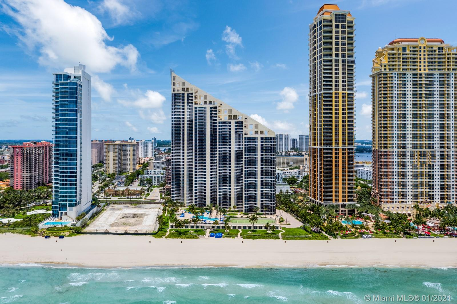 17555  Collins Ave #3702 For Sale A10868301, FL