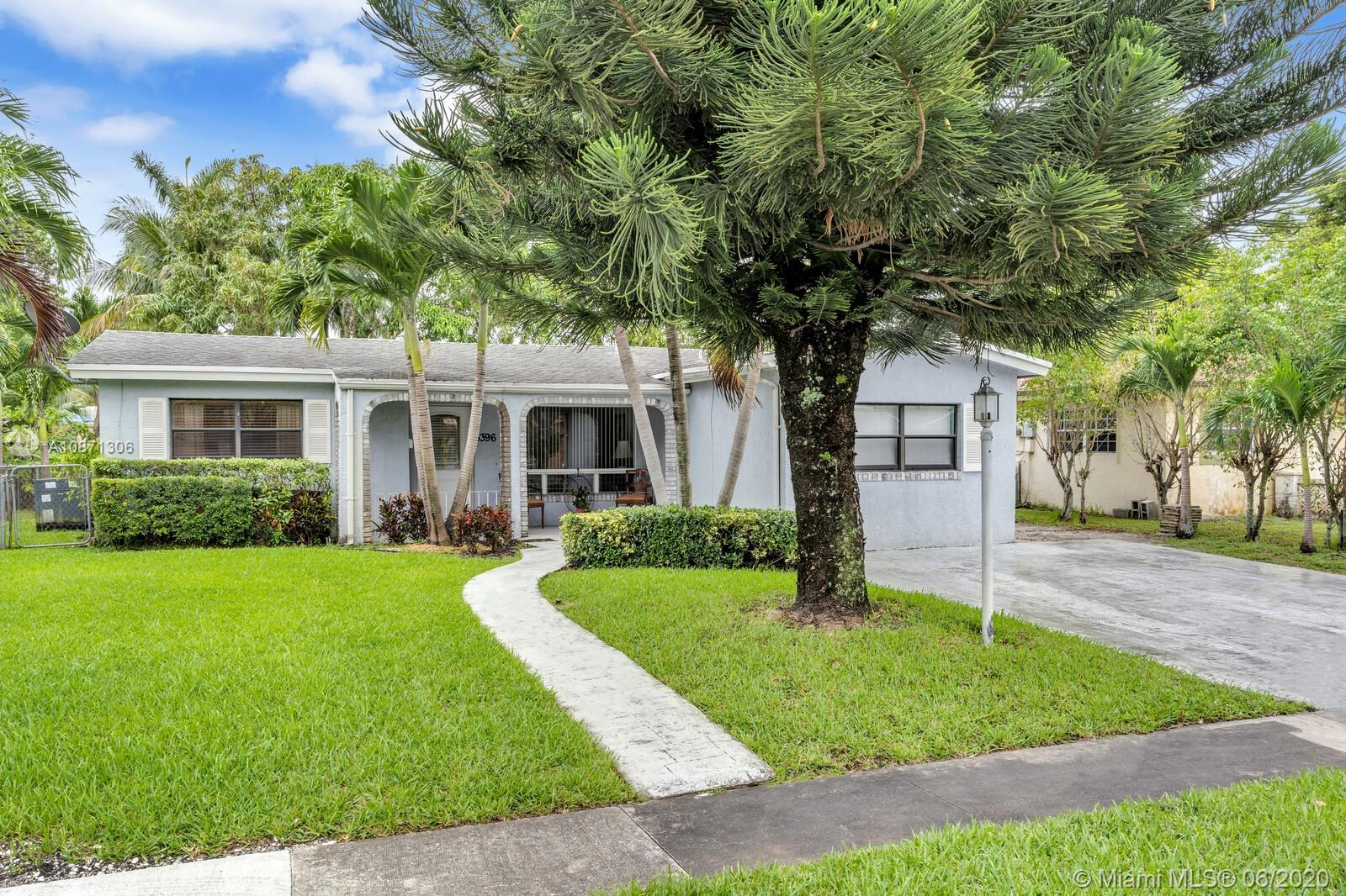 View this Beautiful and priced to sell, cozy three bedroom, two bathroom single family home located in the desirable city of Lauderdale Lake. Features: Kitchen has all stainless steel appliances with the convenience of full sized washer and dryer. This home also boasts a full sized Living, Family, and Formal Dining room. The property has a large backyard with patio area and lake view, perfect for entertainment!! This residence has been meticulously maintained. Owner took really good care of this home!! OPEN HOUSE Saturday June 13th from 12-5