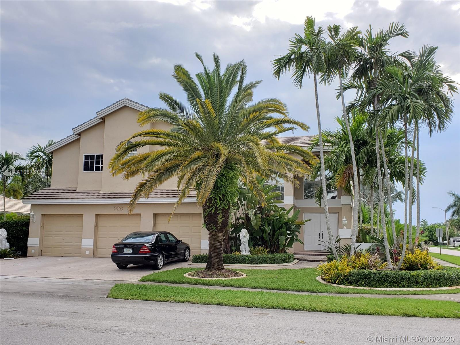 A rare find, beautiful two story home in The Preserve at Chapel Trail Pembroke Pines, oversized corner lot, screened in patio, jacuzzi, new fence. Tastefully decorated and renovated, new kitchen counter top and backsplash, newer appliances. Lots of amenities such as, tennis, basketball, baseball diamond, racquetball, community pool, party room, nature preserve, cable. One AC unit is from April 2019 and the other is from June 2019. Roof from 2006.