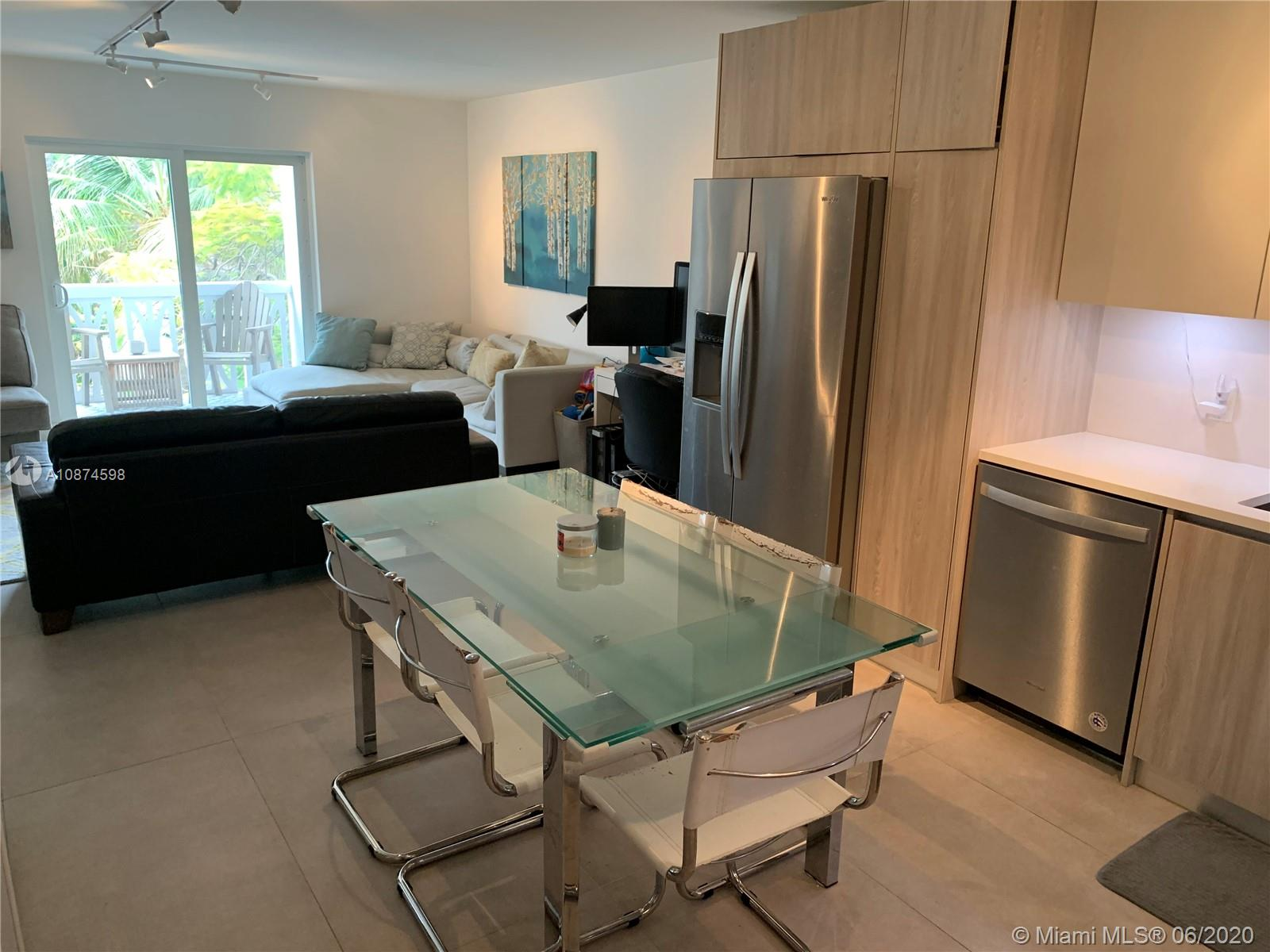 Enjoy the sand and tranquility from this beautiful apartment that was COMPLETELY RENOVATED in 2019. The lowest priced 3 bedroom condo in all of Key Biscayne, this apartment is located just a half a block from the beach and includes private beach access. All three bedrooms have custom built-in closets and both bathrooms are ultra modern with one having a shower and the other a tub. The kitchen features top of the line appliances with high end finishes and soft close cabinetry, and the unit is equipped with hurricane impact windows. It is tiled throughout and has a lovely balcony for relaxing. Move in and don't do a thing! The condo is less than a 5 minute walk to the local grocery store, nearby shops and restaurants, and Crandon Park.