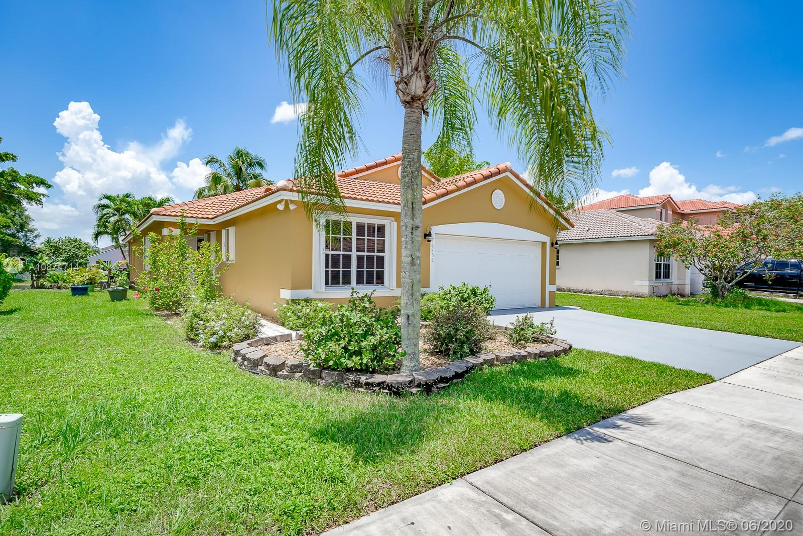 Beautiful lakefront home. Enjoy the cover lanai, gated community with pool and lakes you can fish in. New roof in 2019, New exterior and interior paint in 2019, New Air Handler 2018, New Fence in 2018. New Accordian Hurricane Shutters in 2019 New garage door opener. Star fruit, banana and coconut trees. Updated kitchen and baths