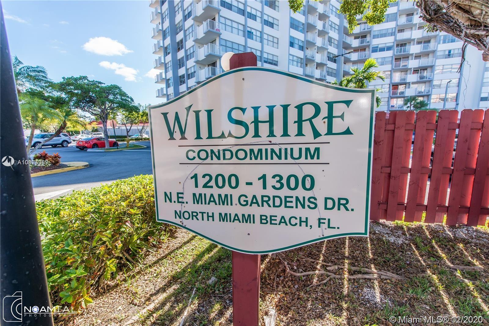 1200 NE Miami Gardens Dr #207W For Sale A10874969, FL