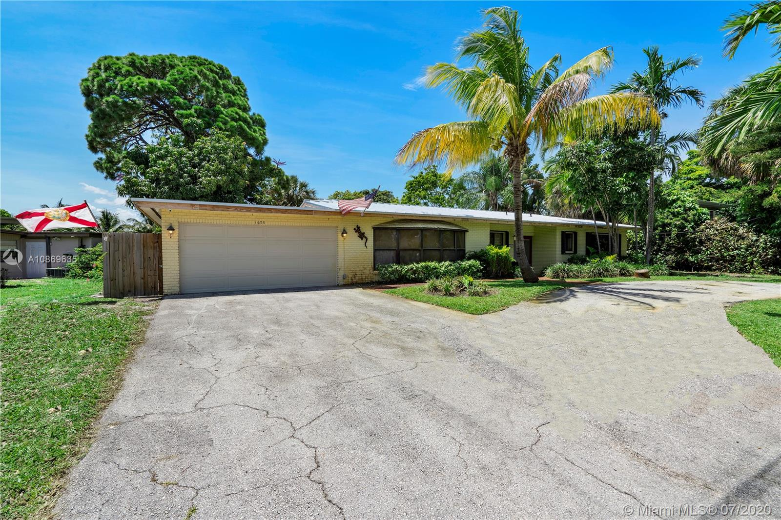 Wow!Large 3 Bed, 2 Bath Pool Home With 2 Car Garage Located Close To The Beach In Oakland Park On Oversized Lot. NEW $50K Metal Roof (2019). Large Open Kitchen With Lots Of White Cabinets, Pantry, Recessed Lights, & Breakfast Area. Home Has Living Room, Dining Room, Family Room + Wet Bar W/Fridge For Entertaining. Tile Flooring Throughout Common Areas. Master Suite Features Walk-In Closet/ 2nd Closet, Upgraded Lighting/Ceiling Fan, Laminated Wood Flooring & Natural Lighting. Master Bath Has Wood Vanity, Upgraded Tub/Shower. 2nd Bath Features Large Vanity, Granite Countertop, & Shower. Upgraded Plumbing + Electric. Large Fenced Backyard Has Patio, Saline Pool W/New Pump, Lavish Landscaping, & Shed. Camera & DVR System Stays. Hurricane Garage Door. Accordion Shutters. NO HOA !Must See!