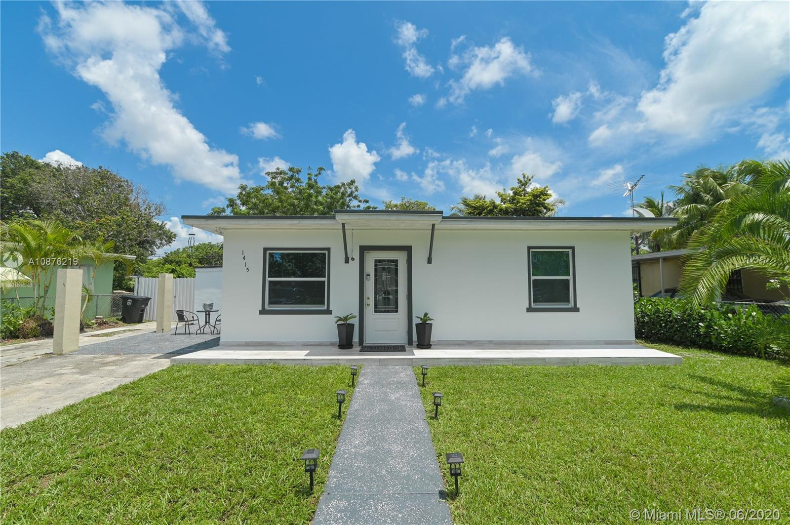 1415 NW 125th St  For Sale A10876219, FL