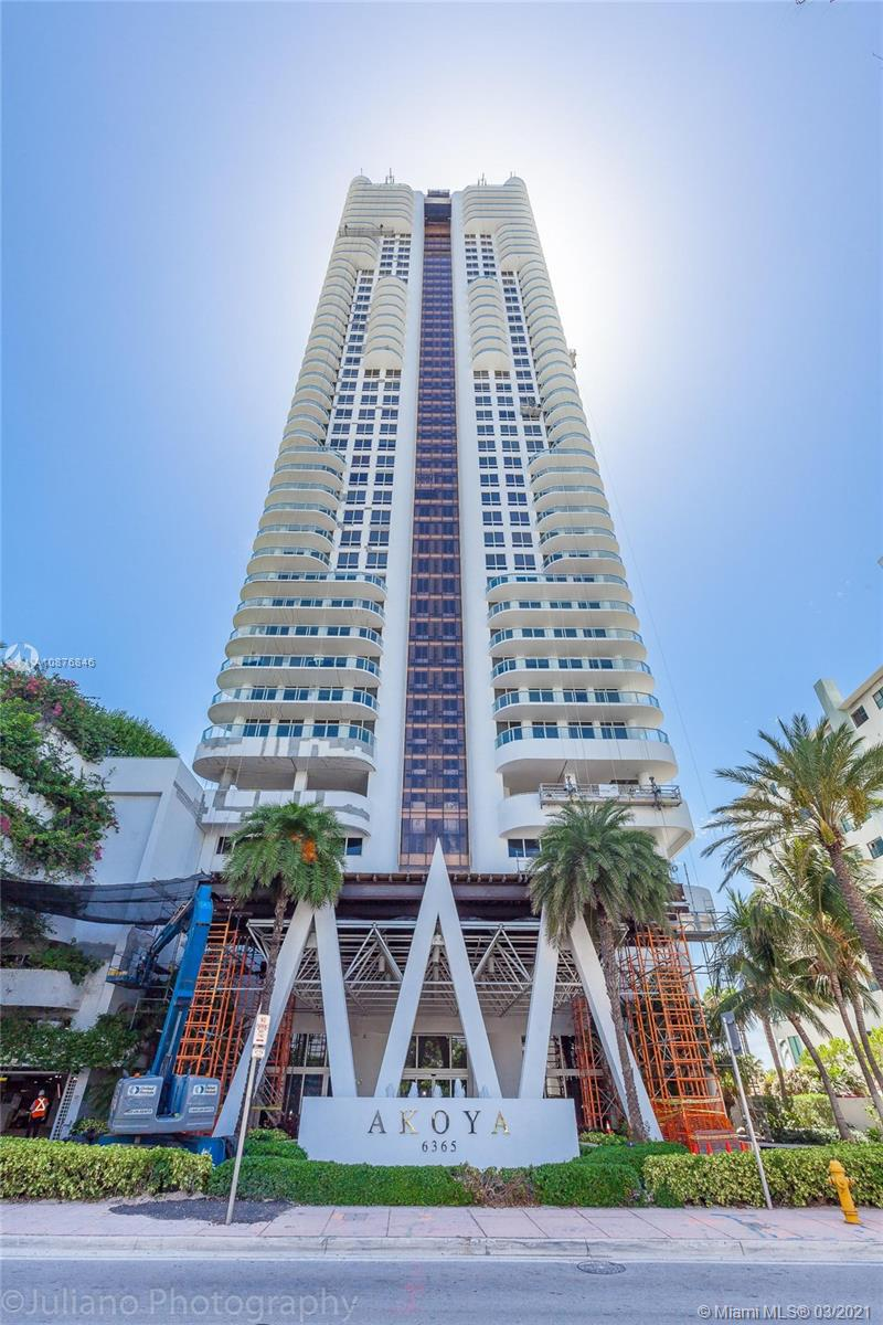 6365  Collins Ave #2603 For Sale A10876846, FL