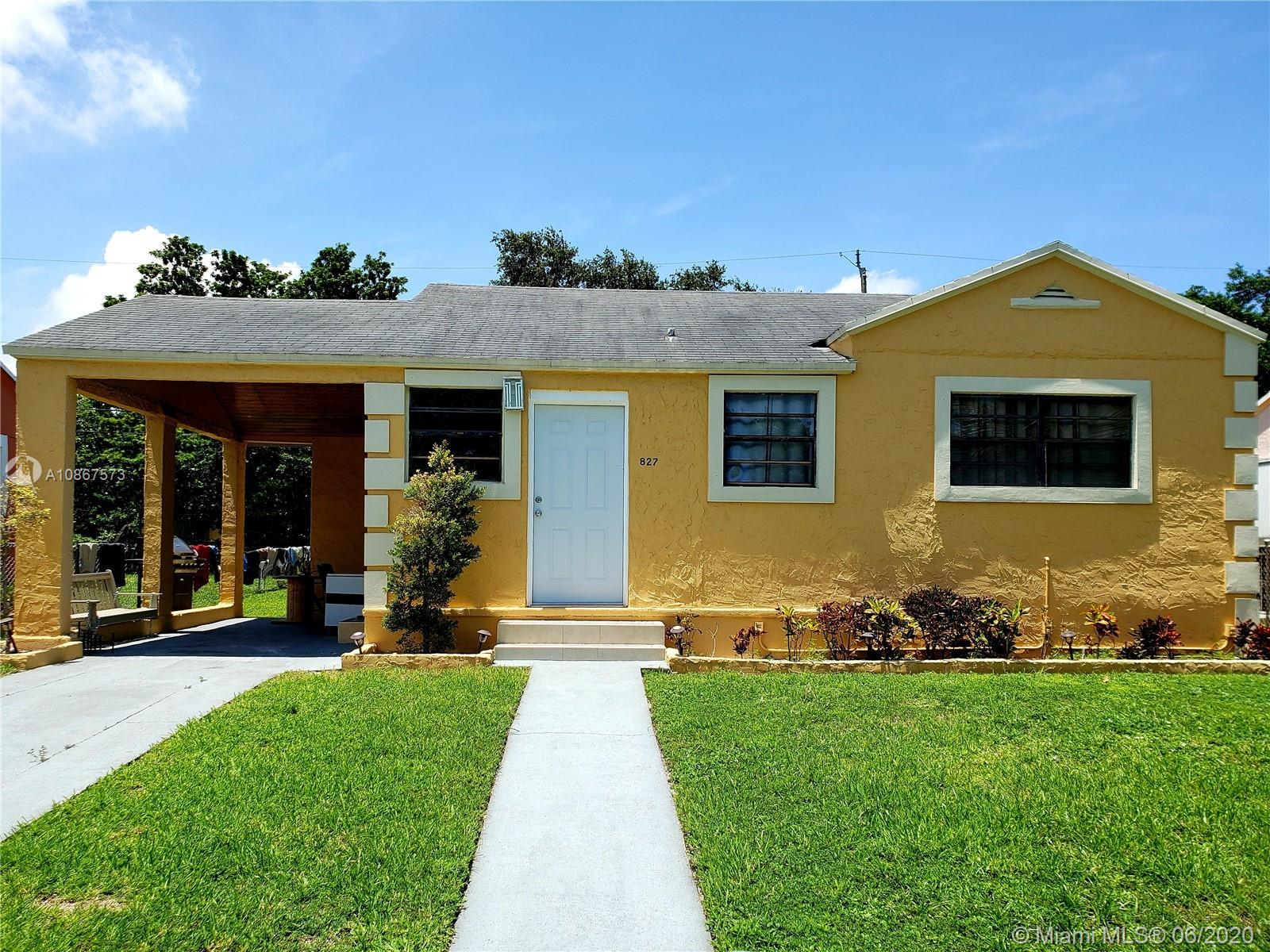 827 NW 65th St  For Sale A10867573, FL