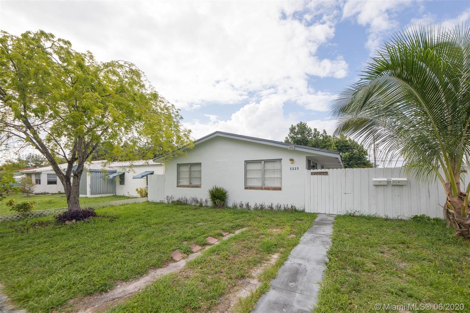 2223  Liberty St  For Sale A10877903, FL