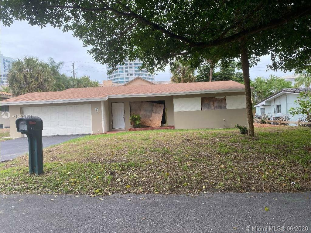 Great investment opportunity with this home. Two bedrooms two bathrooms and an attached garage. There is a utility room that could be used as office or den. Screened in patio. Boarded and broken windows throughout. Come take a look today. Please note property has code violations and Liens and seller is selling as-is.
