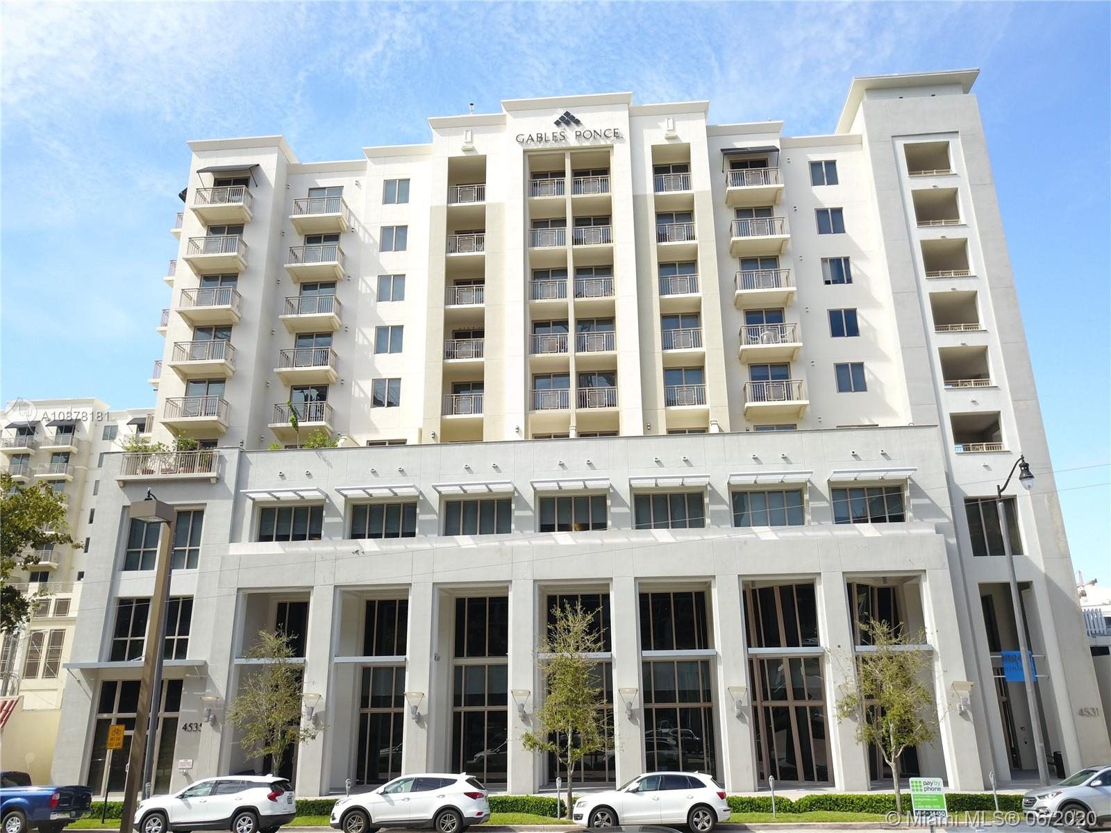 4531  Ponce De Leon Blvd #OU2 For Sale A10878181, FL