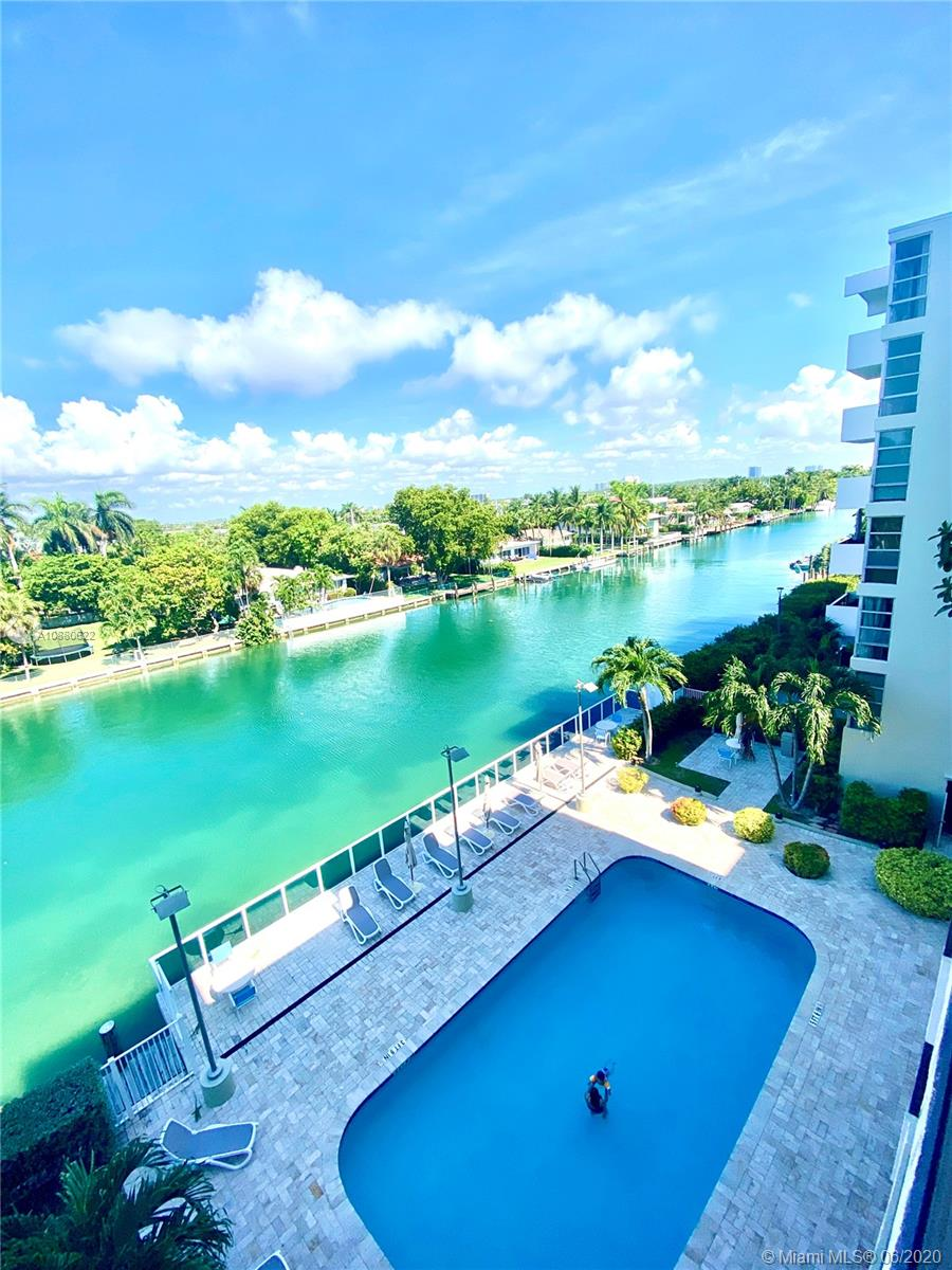 Amazing water views from this fabulous 1 bed and 1.5 baths. This unit features open kitchen, spacious living, & dinning room, floor to ceiling windows, walk-in closet, and great views from room. Located within walking distance from Bal Harbour Mall, cafes, restaurants and beach. Building has excellent amenities.
