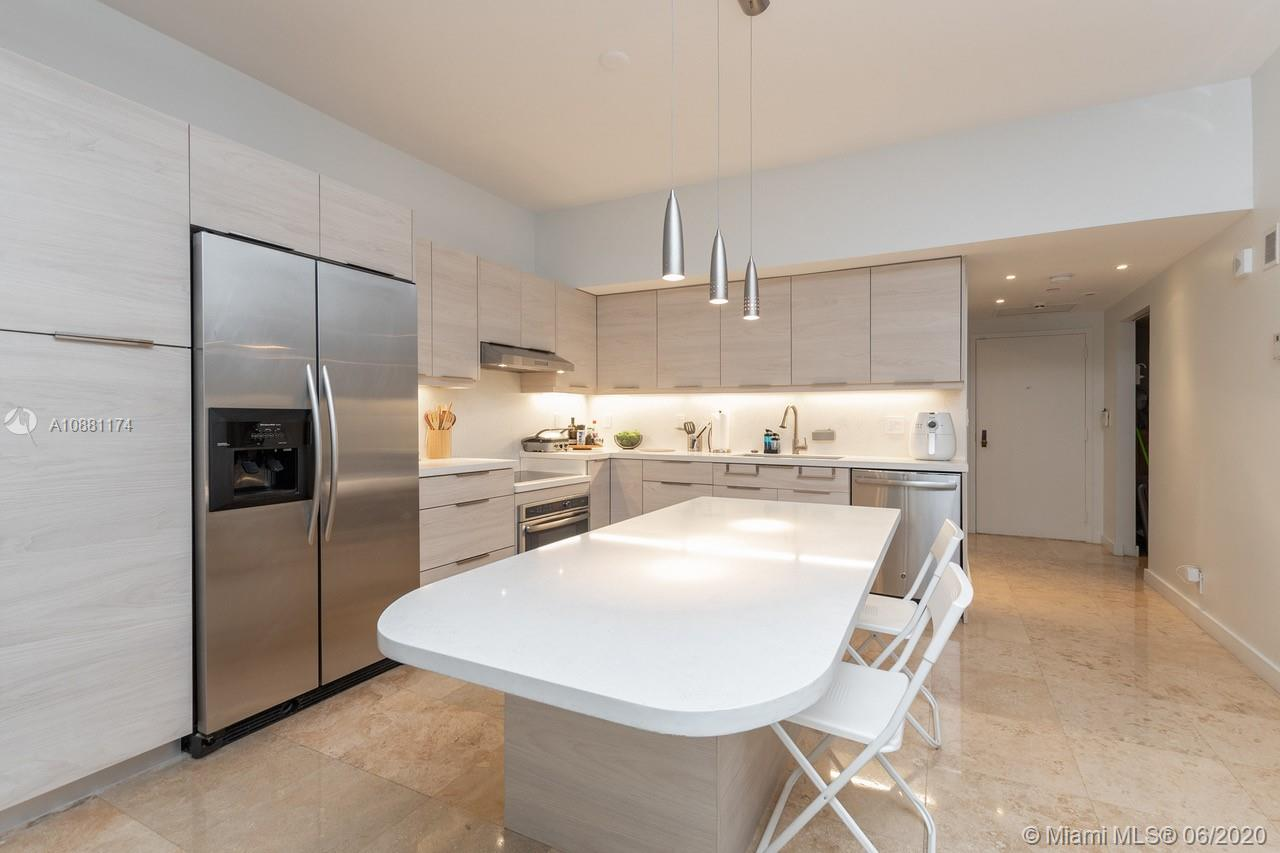 Completely remodeled unit at The Oceansound! Cozy 2/2 Bedroom conveniently located on the first floor. Stroll, jog or simple walk directly from your terrace to the natural surroundings that Key Colony has to offer.  Living in this exclusive and sought-after location, you will experience the best that life has to offer. Ideally and centrally located. Concierge, 24-hr Security, Covered parking, Lushly landscaped, Resort Deck, Tennis Courts, Gym,Beach front and much more!!!!