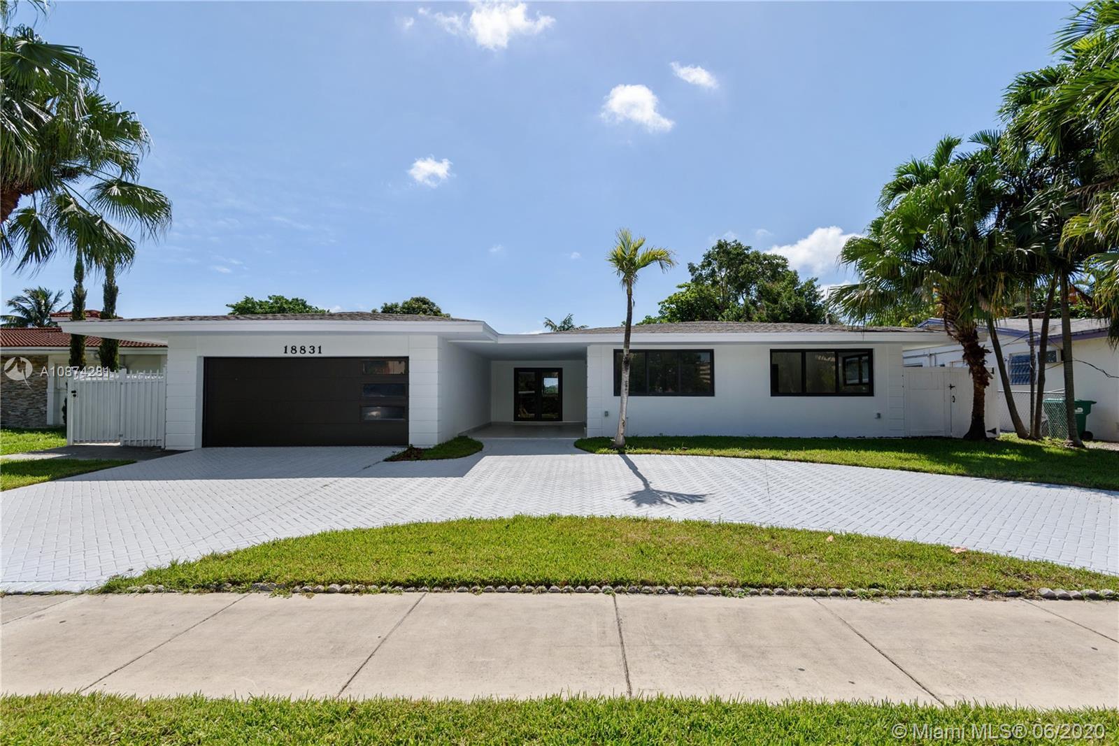 18831 NE 18th Ave  For Sale A10874281, FL